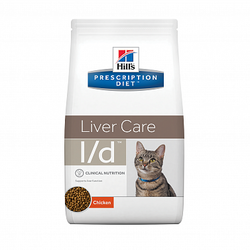Хилс для кошек. Диета 1,5кг L/D - лечение печени