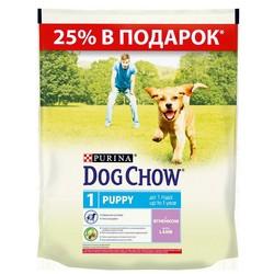 Дог Чау для щенков, Ягненок 800гр (акционный пакет)