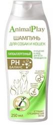 """Шампунь """"Энимал Плэй"""" для собак/кошек гипоалергенный, 250мл"""