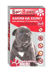 Капли репеллентные для щенков, БиоВакс