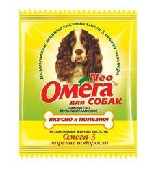 Омега-Нео 15шт - для собак Морские водоросли