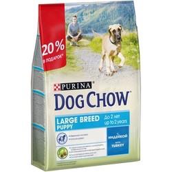 Дог Чау для крупных щенков. Индейка. 2,5кг (акционный пакет)