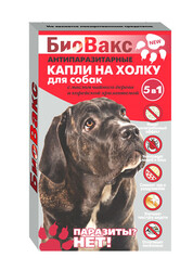 Капли репеллентные для собак, БиоВакс
