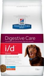 Хилс для собак. Диета 1,5кг I/D + Стресс: ЖКТ для мелких собак