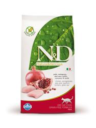 N&D - Курица и Гранат, 1,5кг (беззерновой корм для кошек)