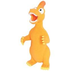 Динозавр, 24см, Оранжевый, латекс (Zolux) арт.479323ORA