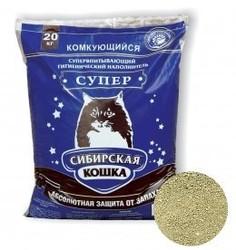"Сибирская кошка ""Супер"" комкующийся, 20кг"