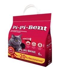 Пи-Пи-Бент комкующийся 5кг + 20% в подарок