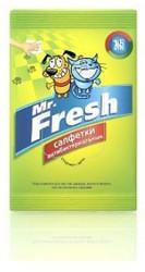 """Салфетки влажные """"Mr.Fresh"""" антибактериальные (15шт)"""