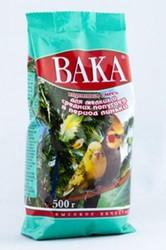 Вака-ВК 500гр корм для мелких и средних попугаев (линька)