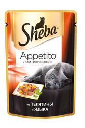 Шеба Аппетито 85гр - Телятина и Язык