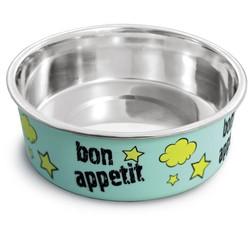 "Миска металлическая на резинке ""Bon Appetit"", 0,25л"