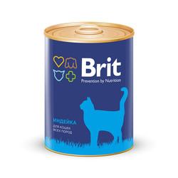 Брит для кошек 340гр - Индейка