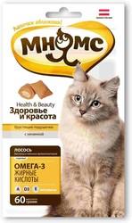Мнямс - хрустящие подушечки для кошек Бьюти 60гр