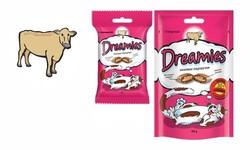 Дримс 30гр лакомые подушечки для кошек - Говядина