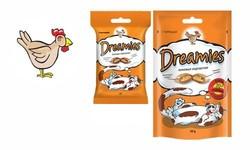 Дримс 30гр лакомые подушечки для кошек - Курица