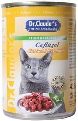 Dr.Clauder консервы для кошек - Курица 415гр