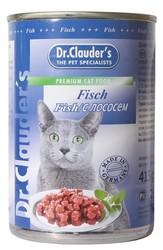 Dr.Clauder консервы для кошек - Рыба/Лосось 415гр