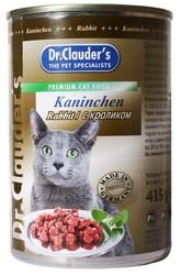 Dr.Clauder консервы для кошек - Кролик 415гр