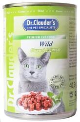 Dr.Clauder консервы для кошек - Дичь 415гр