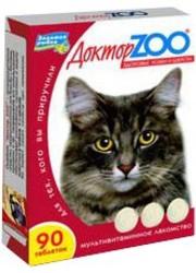 Доктор Zoo лакомство для кошек - Биотин и Таурин