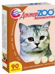 Доктор Zoo лакомство для кошек - Копчености