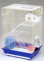 Клетка для грызунов  3303-К  34,5х28х53,5см. 3-х этаж.