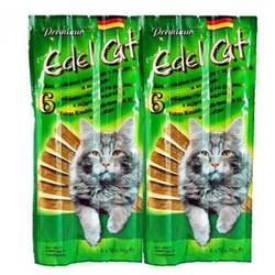 Лакомство Edel Cat Колбаска для кошек, Заяц/Печень (6шт/уп) - цена за 1шт