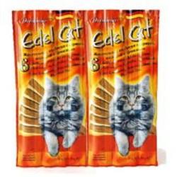 Лакомство Edel Cat Колбаска для кошек, Курица/Индейка (6шт/уп) - цена за 1шт