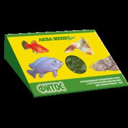 Аква-меню Фитос 11гр - хлопья основной рацион с растительными добавками
