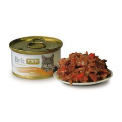 Брит Каре 80гр - для кошек, Тунец, Морковь, Горошек