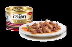 Гурме Голд 85гр - Курица и Печень