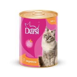 Дарси паштет для кошек 340гр - Индейка