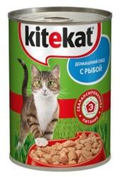 Китекет консервы для кошек 400гр - Рыба