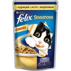 Феликс Сенсейшн 85гр - Курица и Морковь (в желе)
