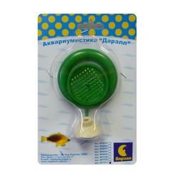 Кормушка для рыб круглая с присоской