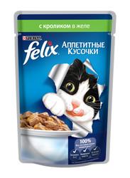 Феликс консервы для кошек 85гр - Кролик (в желе)