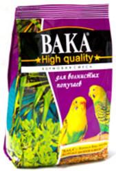 Вака High Quality корм для волнистых попугаев 500гр