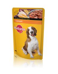 Pedigree консервы для собак 100гр - Курица в соусе