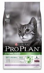 Pro Plan Sterilised 1,5кг корм для стерилизованных кошек, индейка-цыпленок