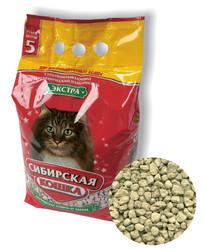 """Сибирская кошка """"Экстра"""" для длинношерстных кошек впитывающий 5л"""