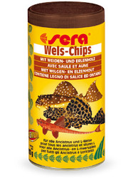 Sera Wels Chips 250мл, чипсы для сомиков