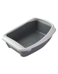 """Туалет для кошек """"Сибирская кошка"""" Евро с бортиком (35х22х12см)"""