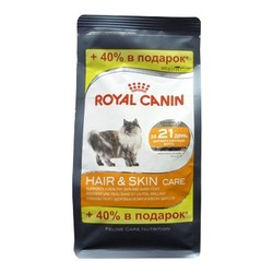 Royal Canin Hair & Skin 400гр + 160гр