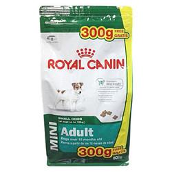 АКЦИЯ!!! Royal Canin Mini Adult, корм для собак (500+300гр)