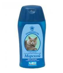 """Шампунь """"Морской"""" 180мл - для кошек короткошерстных"""