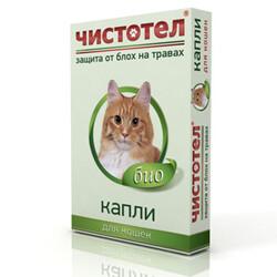 Чистотел, репеллентные капли для кошек