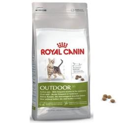 Royal Canin Outdoor 400гр - корм для активных кошек, часто бывающих на улице