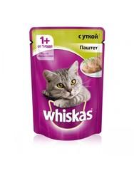 Вискас для кошек 85гр - Паштет из Утки
