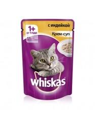 Вискас для кошек 85гр - Крем-суп с Индейкой